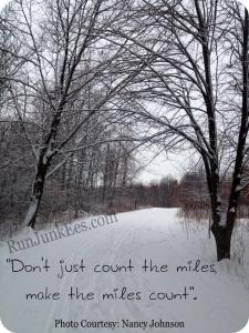 Don't count the miles
