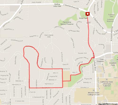 Julia's Run (5 miles)