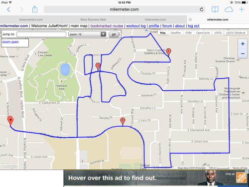 Fullerton Neighborhood Run (4.5 miles)