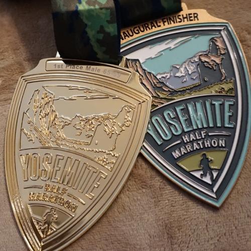 Rick's Yosemite medals
