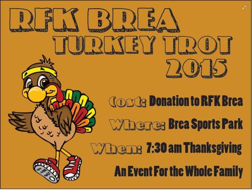 RFK Brea Turkey Trot