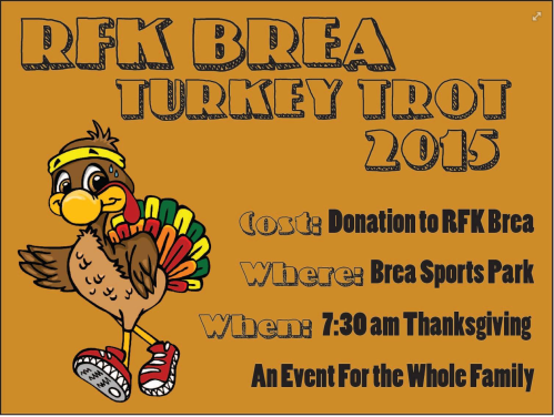 RFK Brea Turkey Trot