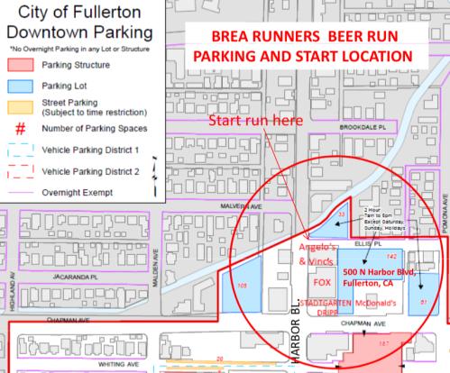 BRBR Parking Map