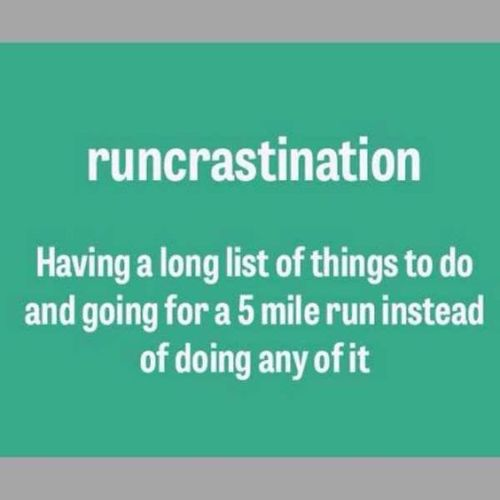 runcrastination
