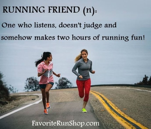 running friend